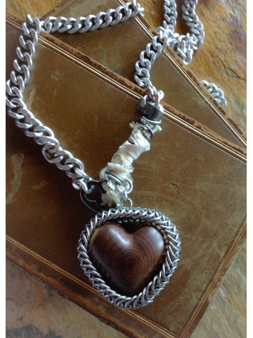 Past Sold Wooden Heart Pieces