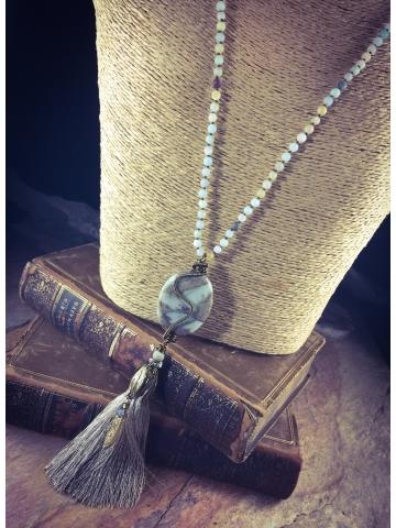 Jasper Road Necklace
